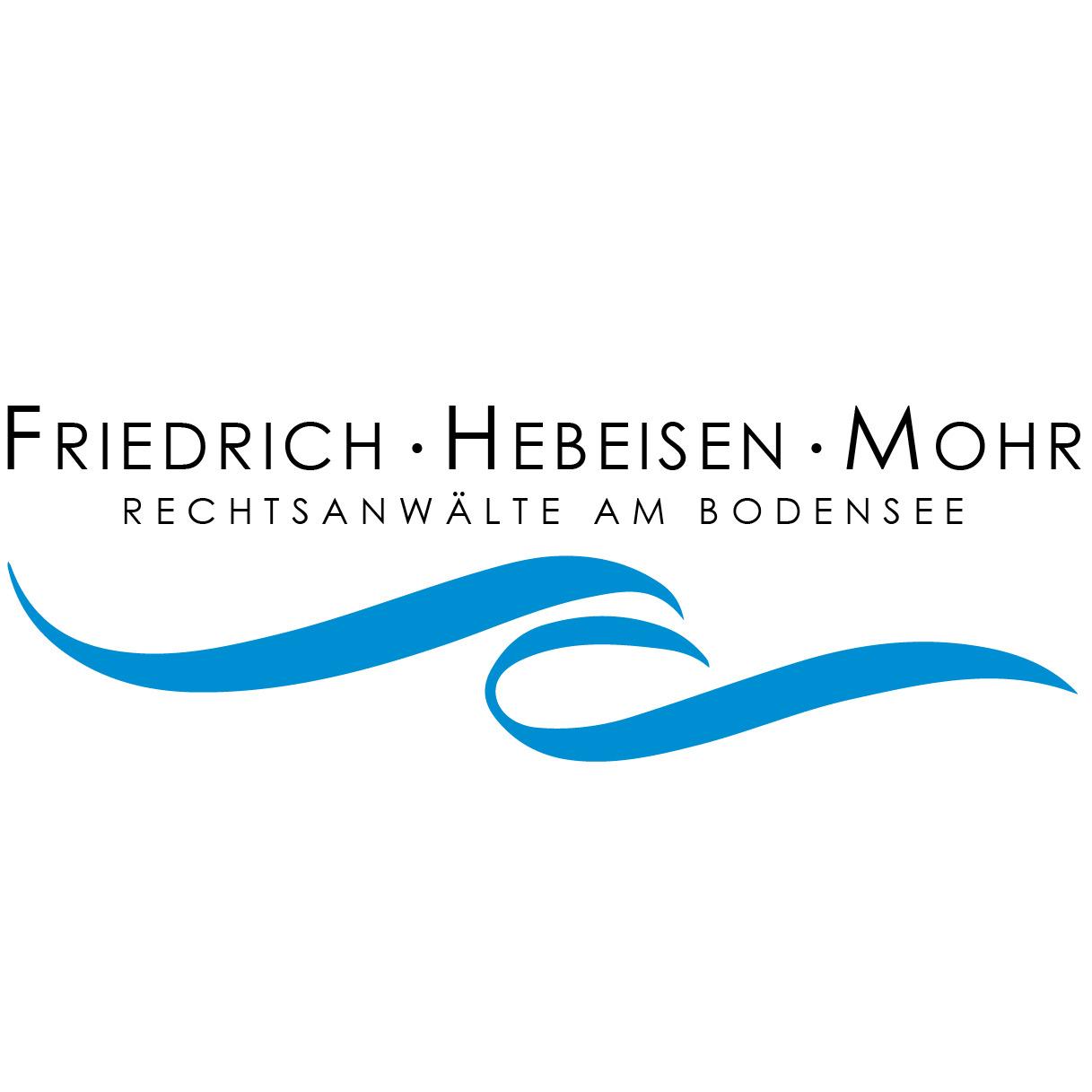 Bilder Friedrich · Hebeisen · Mohr · Rechtsanwälte am Bodensee